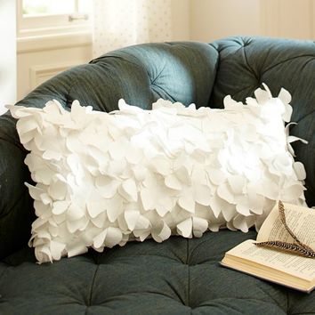 The Emily + Meritt Flutter Butterfly Pillow Cover