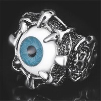 Halloween Evil Eye Ring