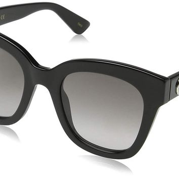 Gucci GG0225S Oversize Sunglasses 63 mm