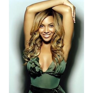Beyonce poster Metal Sign Wall Art 8in x 12in