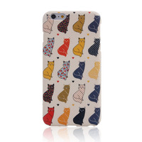 I am a Cat 4 Creative Handmade iPhone creative cases for 5S 6 6S Plus