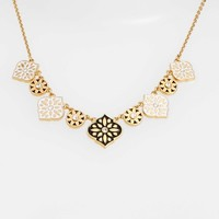 kate spade new york moroccan tile collar necklace | Nordstrom