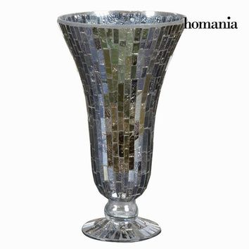 Mosaic glass cup vase - Alhambra Collection by Homania