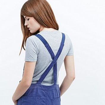 BDG French Workwear Overalls in Blue - Urban Outfitters