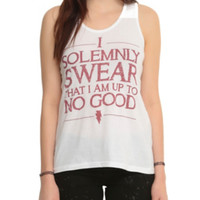 Harry Potter Solemnly Swear Girls Tank Top