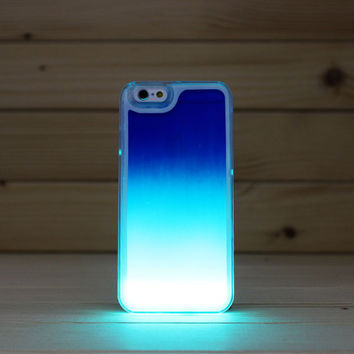 Glow In The Darkness Noctiluncent Running Liquid Luminous Sand Case