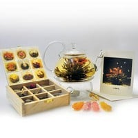 Blooming White Tea Gift Set | Gift Shop | SkyMall