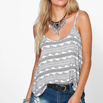 Casual Print Camisole