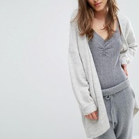 Micha Lounge Boxy Cardigan at asos.com
