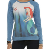 Disney The Little Mermaid Ariel & Sebastian Girls Pullover Top
