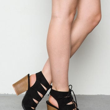Addie Lace-Up Sandal