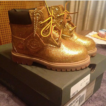 Glitter  Timberland Boots! All sizes!