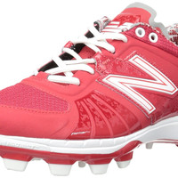 New Balance 2000v2 TPU Molded Cleats Low-Cut - Red White