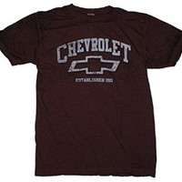 GM Chevrolet Chevy Logo Established 1911 Graphic T-Shirt