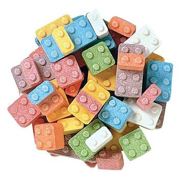 Candy Blocks Lego Candy Bulk 1/2 lb