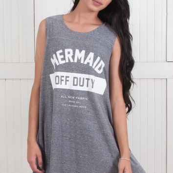 Mermaid Off Duty Up Front Dress