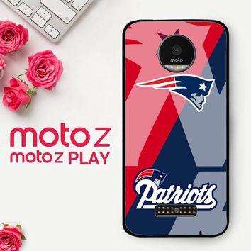 New England Patriots X3301  Motorola Moto Z Play Case