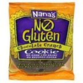 Nana's Cookies Chocolate Crunch Cookie Gluten Free (12x3.5 Oz)