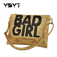 bad envelope clutch women handbags purse crossbody messegner shoulder evening bags