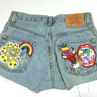 Crazy WCNYC? Patch Shorts