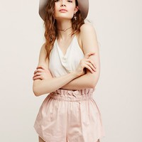 Free People Not So Basic Paper Baby Short