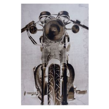 Triumphant Motorcycle | Canvas | Art by Type | Art | Z Gallerie