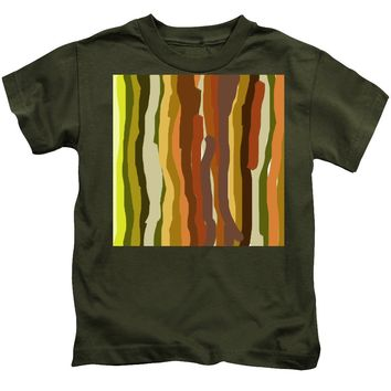 Ooh, You Are Awful ... But I Like You, Abstract Art By Adam Asar - Kids T-Shirt