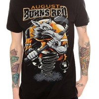 August Burns Red Wolf Hockey Slim-Fit T-Shirt 2XL Size : XX-Large