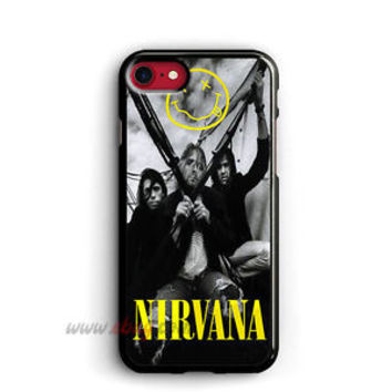 NIRVANA SMILE iPhone Cases NIRVANA Samsung Galaxy Phone Cases SMILE iPod cover