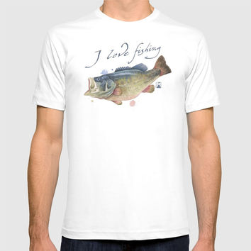 Fish 01 T-shirt by andrea_longhi