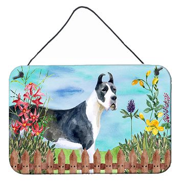 Harlequin Great Dane Spring Wall or Door Hanging Prints CK1205DS812