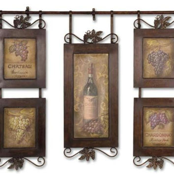Hanging Collage - Wine Theme
