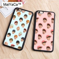 MaiYaCa KPOP BTS Cute Bangtan Boys Expression Phone Case For iphone 6 Case Soft Rubber Cover Fashion Cases For iphone 6S 6 Capa
