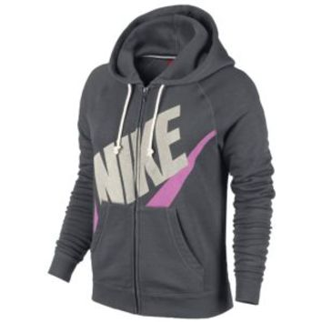 Nike Rally Full Zip Hoodie - Women's at Lady Foot Locker