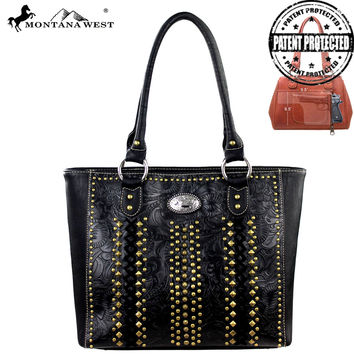 Montana West MW146G-8014 Concealed Carry Handbag