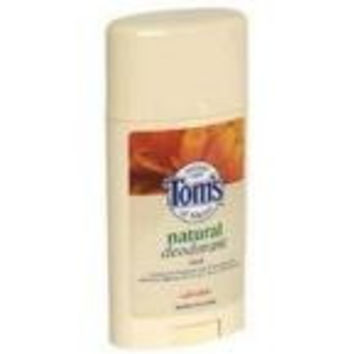 Tom's Of Maine Calendula Natural Deodorant Stick (6x2.25 Oz)