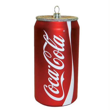 6 Christmas Ornaments - Coca-cola
