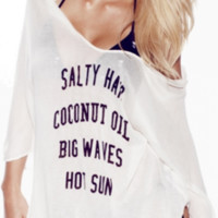 Wildfox Salty Hair Tahiti Tunic
