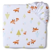 Circo® Woven Woodland Fitted Crib Sheet