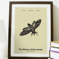 The Silence of the Lambs Classic Movie Series by Posterinspired