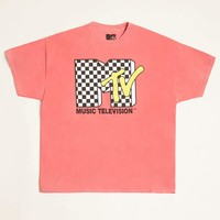 Checkered MTV Graphic Tee