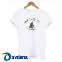 Los Angeles California T Shirt Women And Men Size S To 3XL