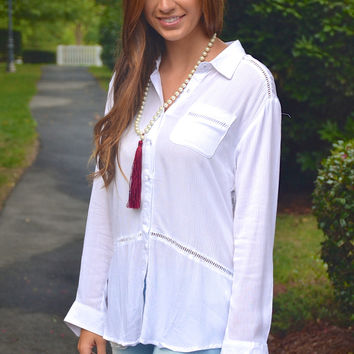 Day to Night top, white