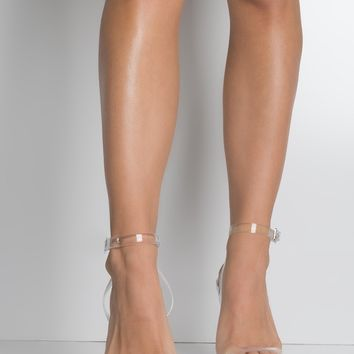 Strappy Patent High Stiletto Heel Sandals in Silver, Black Patent, Nude Patent