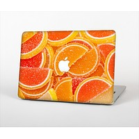 The Orange Candy Slices Skin Set for the Apple MacBook Pro 13""