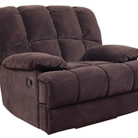 201 Donna Chocolate Rocker/Recliner