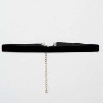 ASOS Choker In Velvet at asos.com