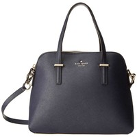 Kate Spade PXRU4471-457 Women's Cedar Street Maise Off Shore Crosshatched Leather Shoulder Bag