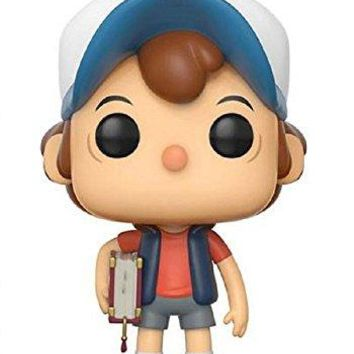 Funko Gravity Falls POP! Animation Dipper Pines Vinyl Figure #240 [Regular Version], Styles may vary