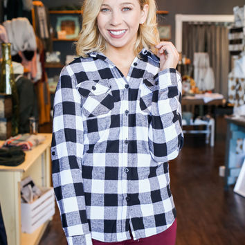 Campfire Flannel Top